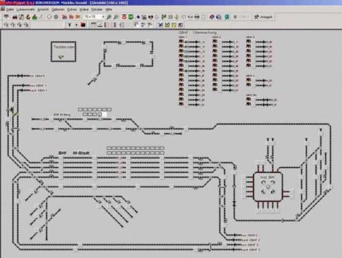 Gleisplan 2003
