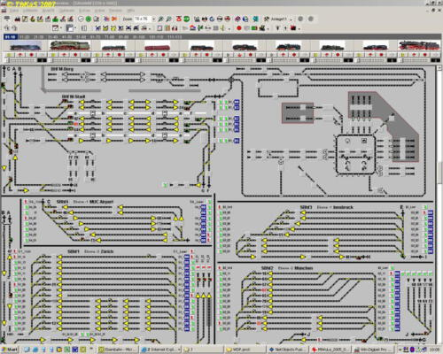 Gleisplan 2007